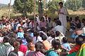 Ekta Parishad meeting, Chhattisgarh, India, November 2005.jpg