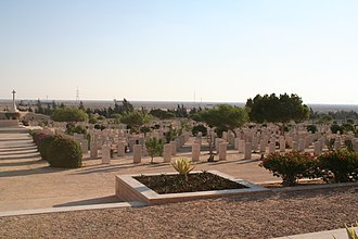 Egypt–United Kingdom relations - El Alamein Commonwealth Cemetery