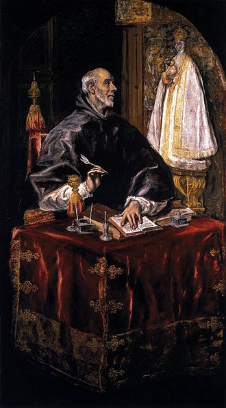Ildefonsus - Ildephonsus as portrayed by El Greco.