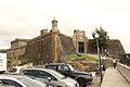 El baluarte meridional del castillo y su entrada.jpg