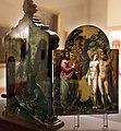 El greco, altarolo portatile, 1567-68, 05 adamo ed eva al cospetto di dio padre.jpg