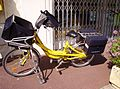 Electrically-powered bicycle used by La Poste, France.jpg