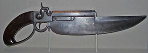 Pistol sword - Image: Elgin cutlass pistol