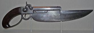 Pistol sword - Image: Elgin cutlass pistol