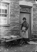 Eliza, the baker's carrier, Tal-y-bont (Cer?) NLW3364278.jpg