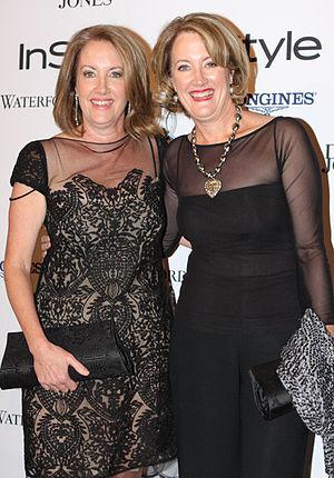 Elizabeth Broderick - Elizabeth Broderick on the left (2013)