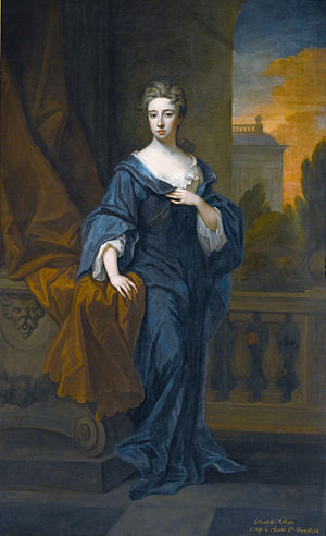 Charles Townshend, 2nd Viscount Townshend - Elizabeth Pelham (1681–1711), first wife of Charles, painted by Godfrey Kneller (late 1690s)