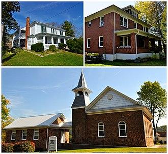 Ellett, Virginia - National Register of Historic Places at Ellett, Virginia.
