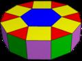 Elongated hexagonal cupola.png