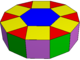 Elongated hexagonal cupola.png