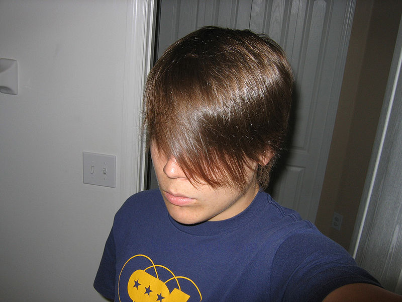Pictures of Emo Hairstyles for Men