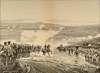 First Carlist War - The Battle of Mendigorría, 16 July 1835.