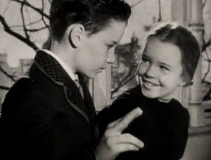 Peter Miles (American actor) - Peter Miles and his sister Gigi Perreau in Enchantment (1948)