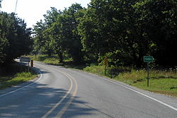 Entrance to Combs on Highway 16