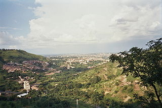 Enugu City in Nigeria