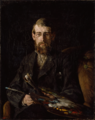 Erik Werenskiold - Portrait of the Painter Nils Hansteen - Maleren Nils Hansteen - Nasjonalmuseet - NG.M.01224.png