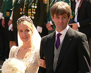 Prince Ernst August of Hanover (born 1983) - Ekaterina Malysheva and Prince Ernst August after their wedding, 2017