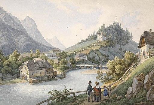 Ernst Welker Motiv aus Bad Ischl
