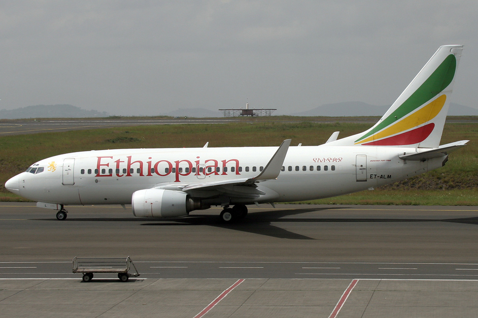Ethiopian Airlines Boeing 737-700 ET-ALM ADD 2010-6-14