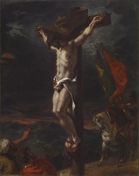 File:Eugène Delacroix - Christ on the Cross - Walters 3762.jpg