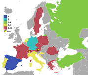 Participating countries of UEFA Euro 2008.