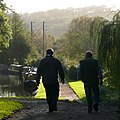 Evening walk by the canal, Kinver, Staffordshire - geograph.org.uk - 1023405.jpg