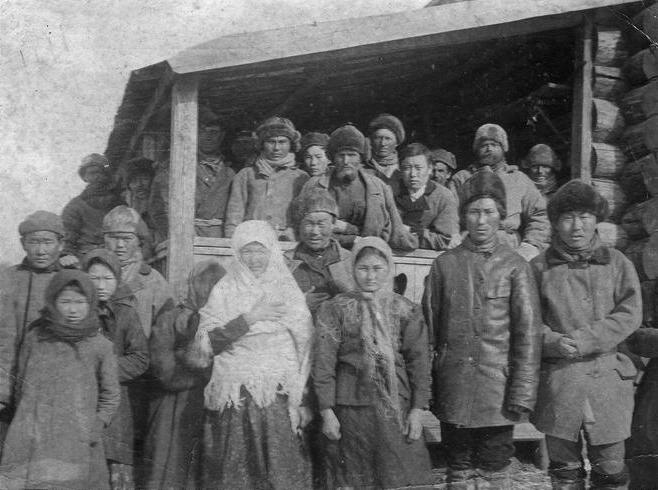 Evenk family in the early 1900s