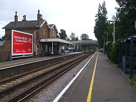 Ewell West look south.JPG
