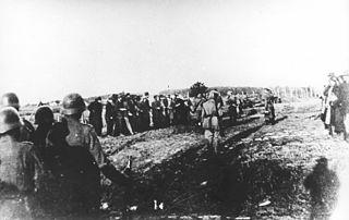 World War II massacre by Nazi German forces in Serbia