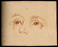 Eyes of a Cupid. Drawing, c. 1794, after A.R. Mengs. Wellcome V0009237.jpg