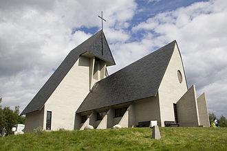 Dovre - Eystein Church (Eysteinskirka) in Dovre