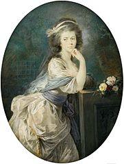 Miniature of Countess von Clam und Gallas.