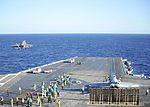 F-35C Lightning II conducts 1st carrier launch 141104-N-UV347-108.jpg