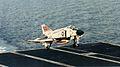 F-4J of VF-31 landing in USS Saratoga (CV-60) in 1980.jpg