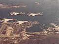 F-8K Crusaders of VC-10 over NAS Guantanamo Bay 1974.jpg