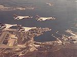 F-8K Crusaders of VC-10 over NAS Guantanamo Bay 1974.jpg