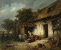 F. I de Braekeleer - Boerderij - NK2508 - Cultural Heritage Agency of the Netherlands Art Collection.jpg