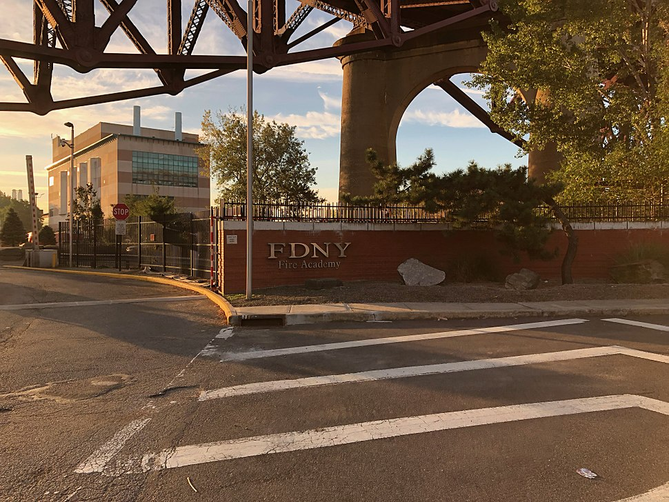 FDNY NY Fire Department Academy entrance IMG 2678 HLG