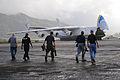 FEMA - 42207 - Federal Emergency Management Agency Staff Greet the Antonov Carg.jpg