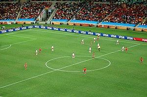 Español: Vista del campo en el partido del Mun...
