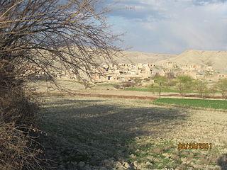 Qaleh Ostad village in North Khorasan, Iran