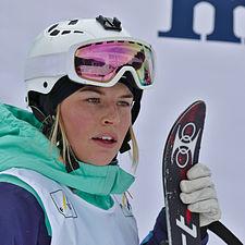FIS Moguls World Cup 2015 Finals - Megève - 20150315 - Hedvig Wessel.jpg