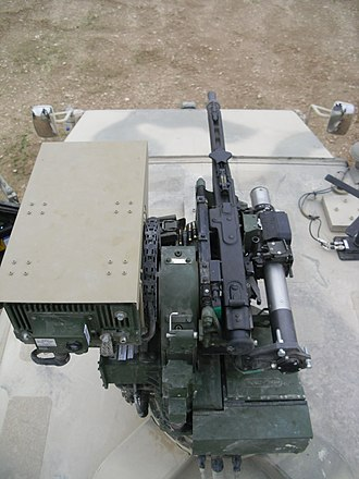 FLW remote weapon station - Image: FLW100 MG3 Dingo Top