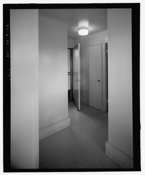 File Foyer Showing The Entry Door Open And Closet Door