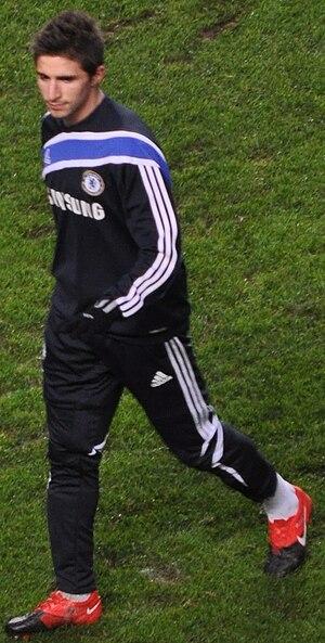 Fabio Borini - Borini training at Chelsea