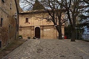 Accademia di Belle Arti di Urbino - Image: Facciata ex Convento Scalzi Urbino