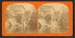 Union, Maine - Image: Falls, South Union, Maine, by G. S. Osgood