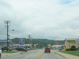 Falmouth, Kentucky - Along U.S. Route 27 on Falmouth's edge.