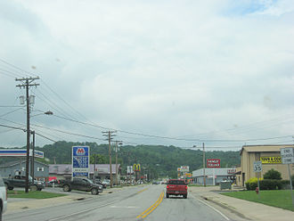 U.S. Route 27 - US 27 in Falmouth, Kentucky