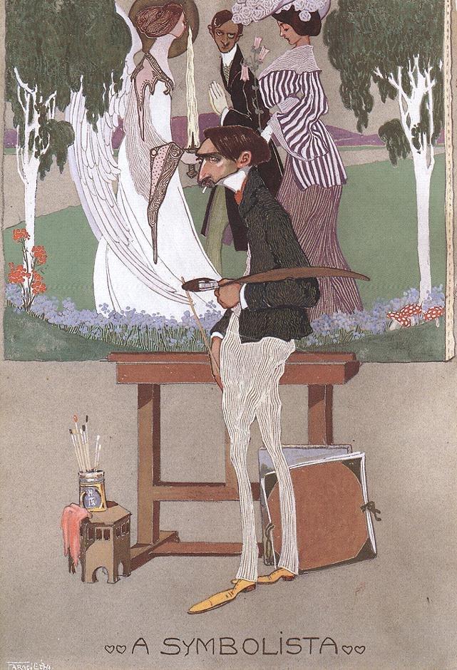 Faragó, Géza - The Symbolist (1908)